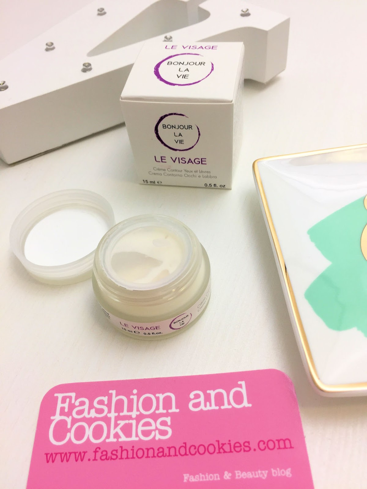 Bonjour la vie crema contorno occhi e labbra su Fashion and Cookies beauty blog, beauty blogger