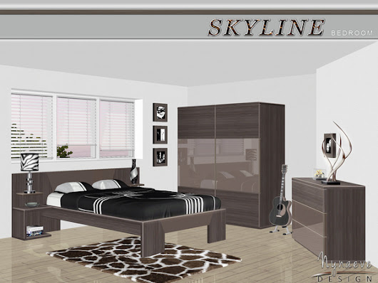 S3 Skyline Bedroom by NynaeveDesign