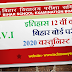 History 12th Class Bihar Board Examination 2020 Objective Questions in Hindi 01