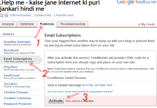 Subcribe,Email,Blog