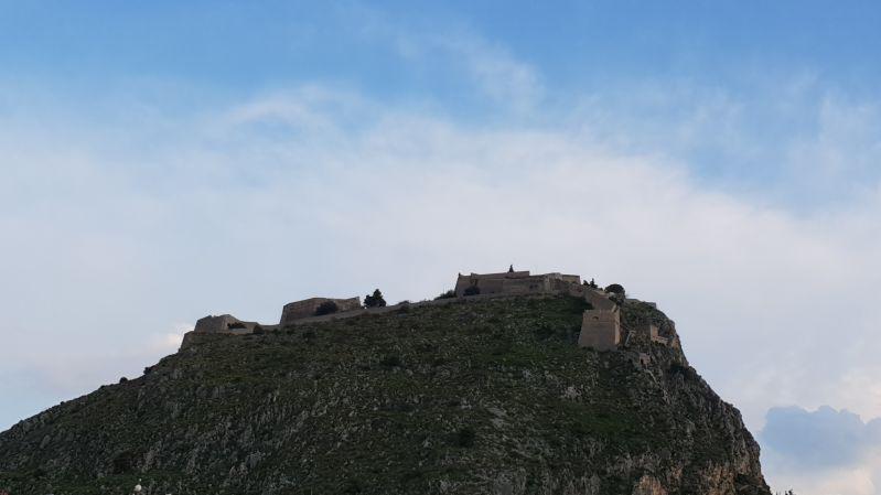 Festung Akronauplia Nafplio Peloponnes April 2019