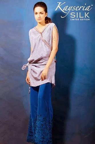 Kayseria Winter Silk Limited Edition Collection 2014-2015 fashionwearstyle.com