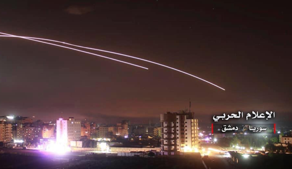 IRAN BLITZED Israel hits Iran's Syria bases with 70 missiles killing 'at least 23 fighters' and vowing 'if it rains in Israel it pours in Iran'