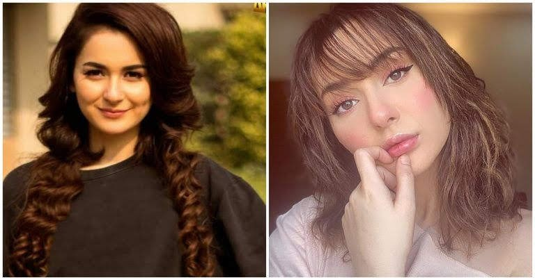 Hania aamir most loved and followed showbiz star
