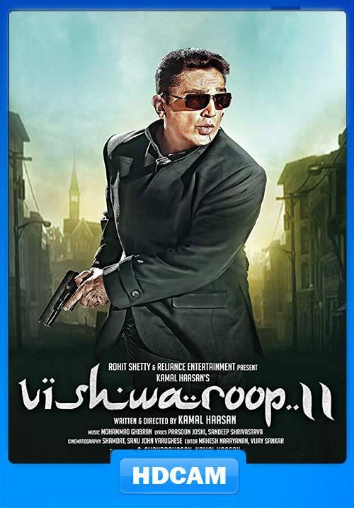 Vishwaroopam 2 2018 720p PreDVDRip Tamil Telugu x264 | 480p 300MB | 100MB HEVC