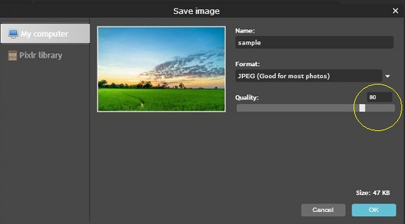 Ganti Ukuran Foto Secara Online