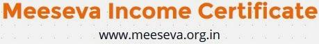 Meeseva Income Certificate