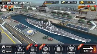 warship battle mod apk revdl