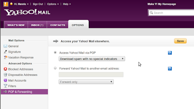 Yahoo bulk mail support