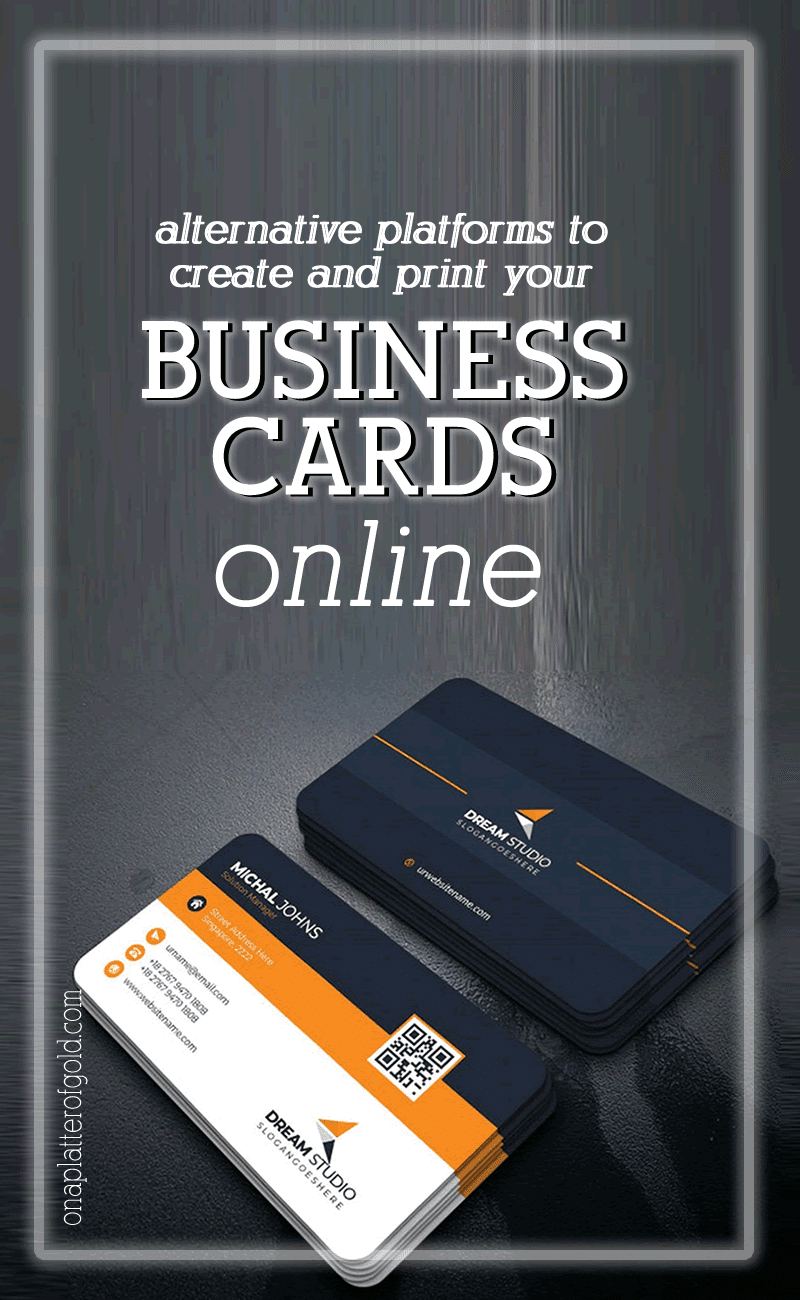 Best Alternative Platforms To Create and Print Your Business Card Online
