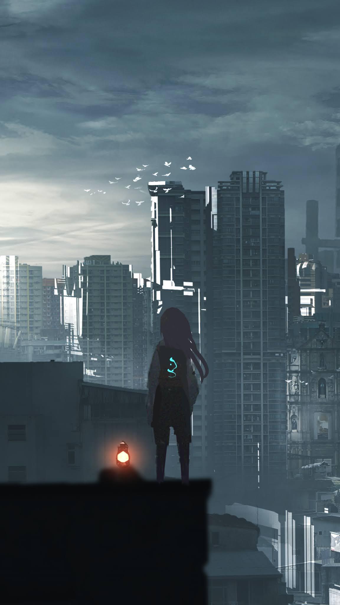 Anime artwork mobile wallpaper