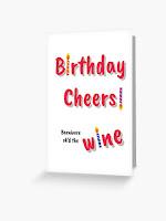 Birthday Cheers! Barnivore ok'd the wine