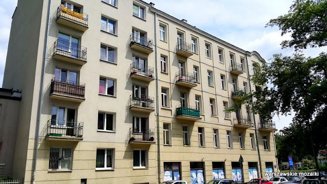 Warszawa Warsaw Wola warszawskie ulice kamienice kontrasty