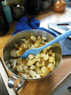 """Dusty"" Potatoes, easy and delicious!"