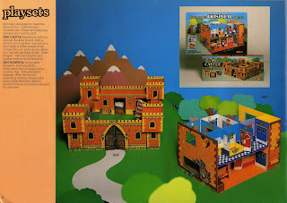 1978 Catalogue; Card Board Toys; Card Buildings; Card Kits; Card Scenics; Cardboard Toy Fort; Cardboard Toy Hospital; Cardboard Toys; Catalogue Image; Hospital Toys; Louis Marx Toys; Marx Hospital; Marx Playsets; Marx Swansea; Marx Toys; Small Scale World; smallscaleworld.blogspot.com;