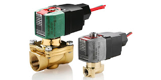 industrial solenoid operated valve with voltage ranging coil