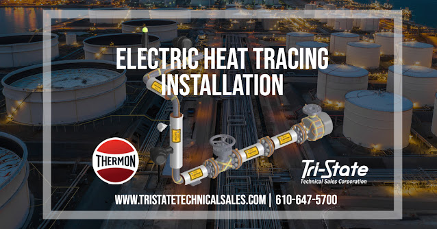 Electric Heat Tracing Installation