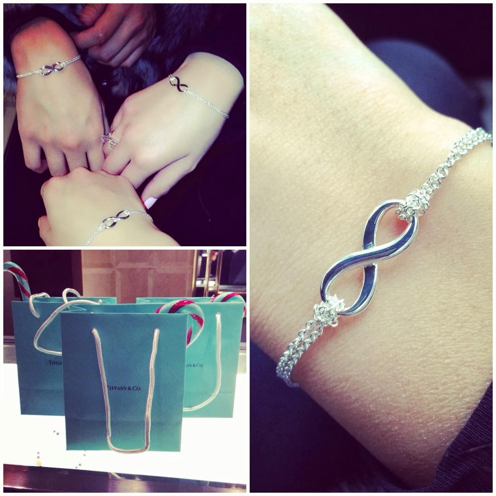 Matching Infinity Bracelets From Tiffany Fashionably Broke I M Back The Dead P