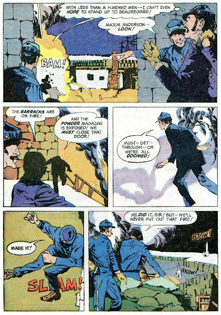 The Phantom v2 #25 charlton comic book page art by Jeff Jones