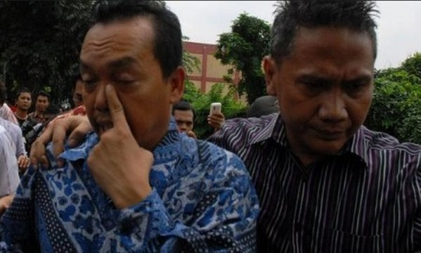 Ramadhan Pohan diperiksa  direktorat reserse kriminal umum polda Sumatera utara