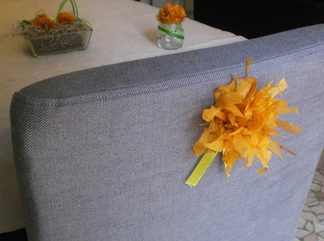 fiori di carta di riso