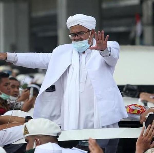 Habib Rizieq Pulang, FPI Jatim: Rindu Ini Terobati