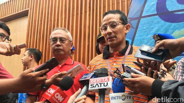 Sandiaga Sebut Indonesia Tidak Mungkin Bisa Peringkat 1 Asian Games