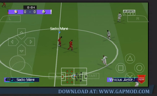 PES Mod FIFA 21 PPSSPP