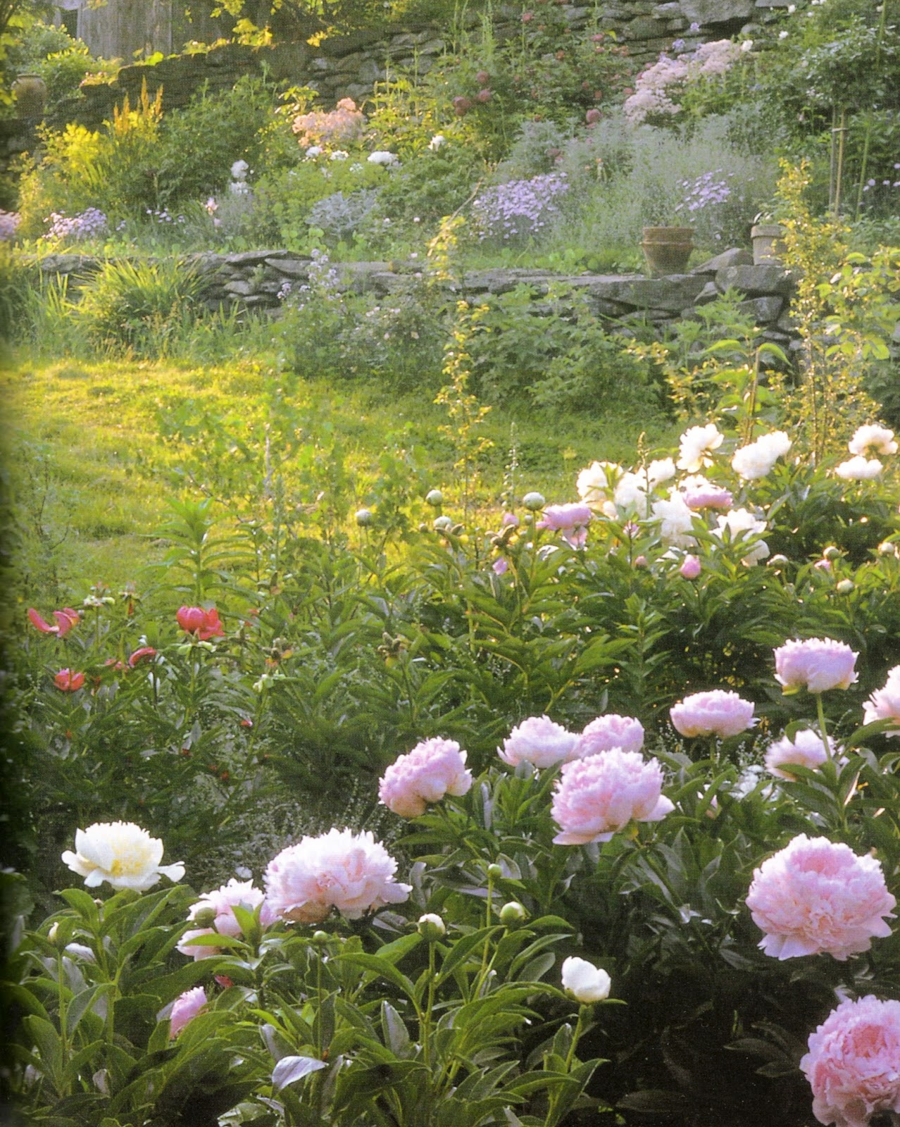 Linenandlavender Net Flowers In Profusion Tasha Tudor S Garden