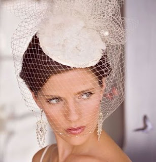 Short Wedding Hat