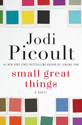 Small Great Things by Jodi Picoult is an adult contemporary fiction aka realistic fiction about racism and white privilege. It's a great eye opening book, page turner, fast read earning 4.5 out of 5 Stars in my book review.  Alohamora Open a Book https://alohamoraopenabook.blogspot.com/