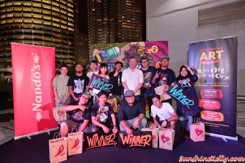 Nando's Art Initiative 2015, Live Graffiti Competition, Avenue K, Nando's, Graffiti Jam