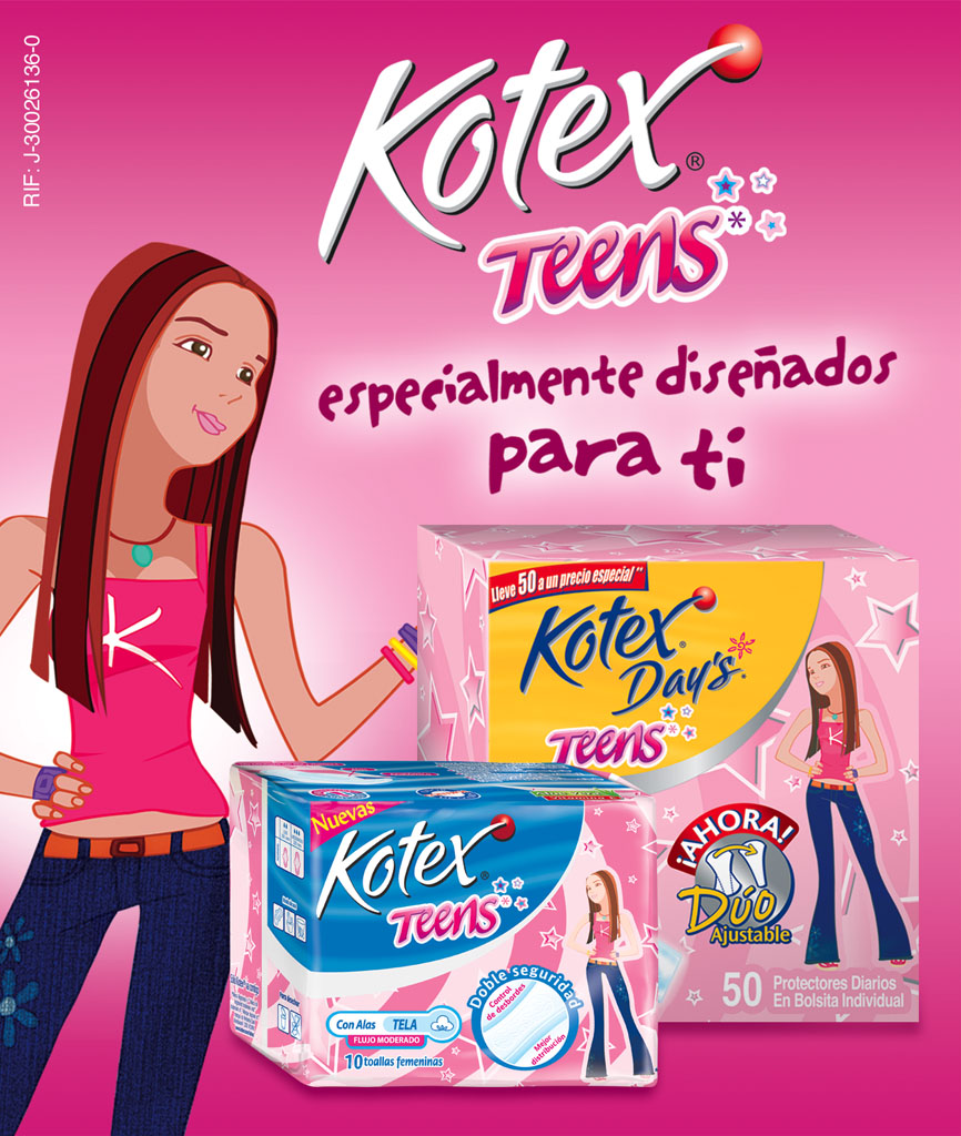 Peggy Ruiz Graphic Designer Kotex Kotex