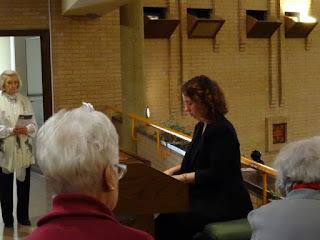 Domingo de Ramos: Inicio de la nueva directora del coro parroquial