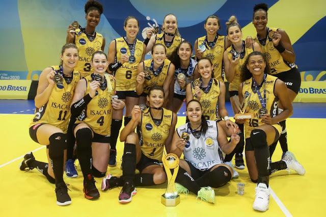 Praia Clube vence SESC Flamengo e fica com o título do Troféu Super Vôlei  feminino - Surto Olimpico