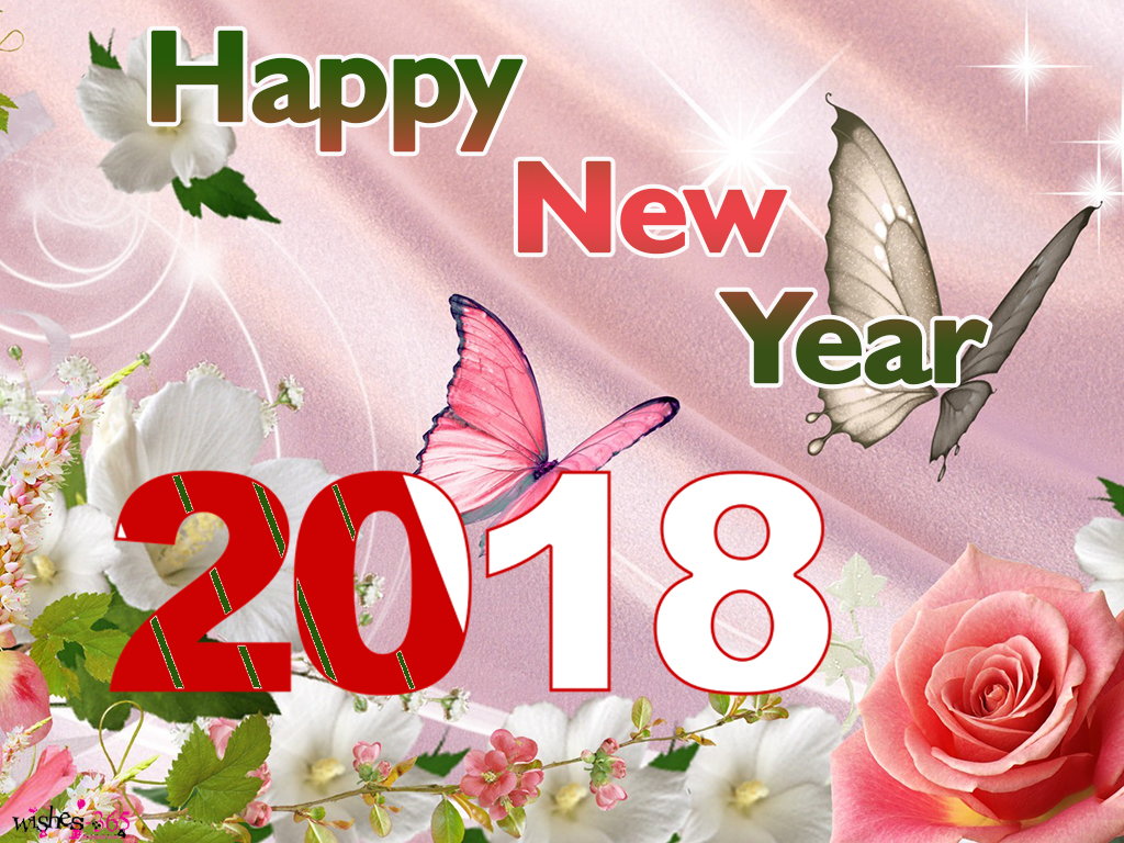 poetry and worldwide wishes happy new year image 2018