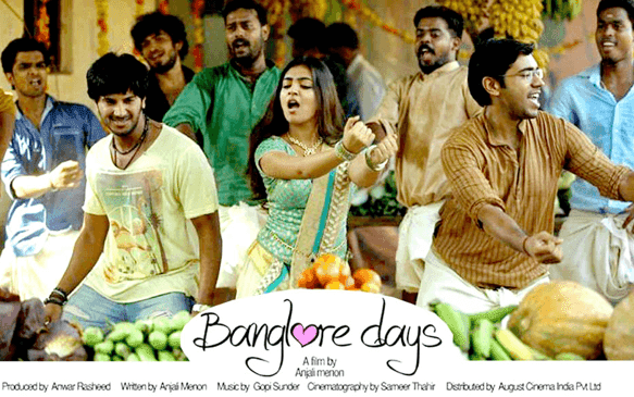 Bangalore days (2014) : Thudakkam maangalyam song lyrics
