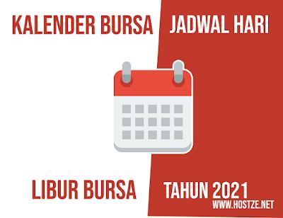 Jadwal Libur Bursa 2021 - hostze.net
