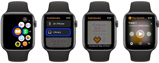 How to stream and play Apple Books audiobooks on Apple Watch