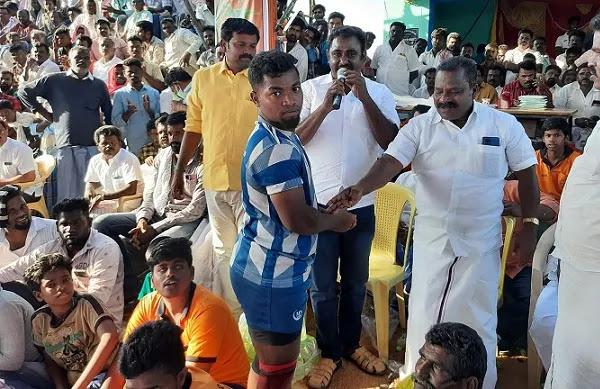 Pudukkottai District Vellanur kabaddi Match Live Update