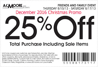 AC Moore coupons for december 2016