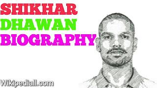 shikhar dhawan biography