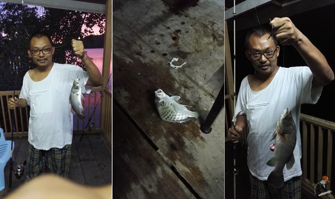 Hasil Memancing Muara Kampung Baru Ayer Tawar, Perak