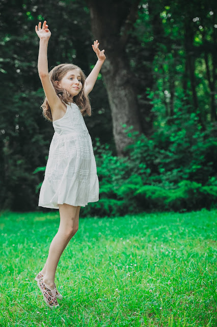Elleanor de Provence robe blanche fille