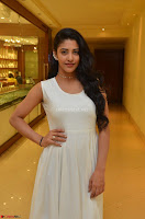 Daksha Nagarkar Cute Beauty in Sleeveless White Dress at Khwaaish Exhibition Launch 2017 ~  Exclusive 029.JPG