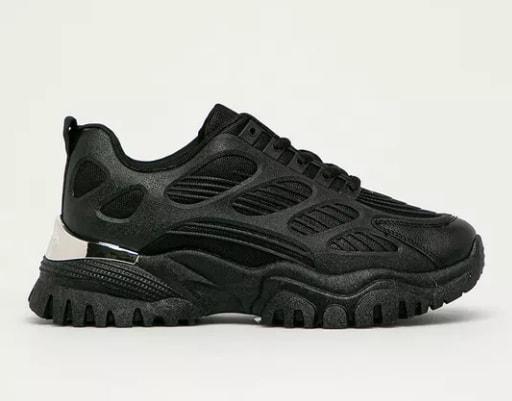 Pantofi sport negri de dama Sweet Shoes