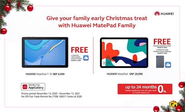 Huawei MatePad Holiday Gizmo Manila