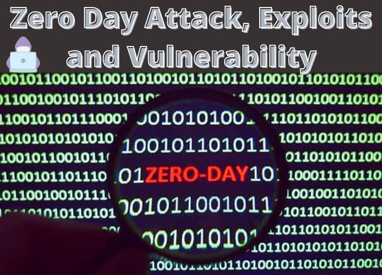 What is Zero Day Attack, Exploit and Vulnerability