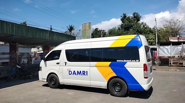 DAMRI buka jalur transportasi Kayangan-Mandalika. Tarif Rp 30 ribu