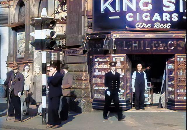 London in wartime. worldwartwo.filminspector.com